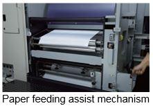 Paper feeding assist mechanism